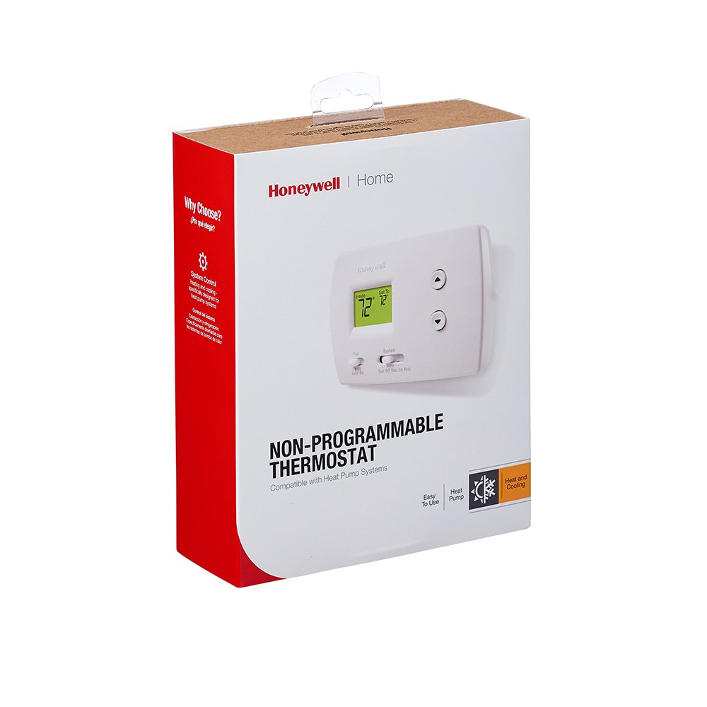 Honeywell Rth3100c1002 E1 Digital Heat Cool Pump Thermostats As Electric Furnace Vacuum Further Hvac Thermostat Wiring