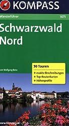 Schwarzwald Nord: Wanderführer mit Top-Routenkarten und Höhenprofilen