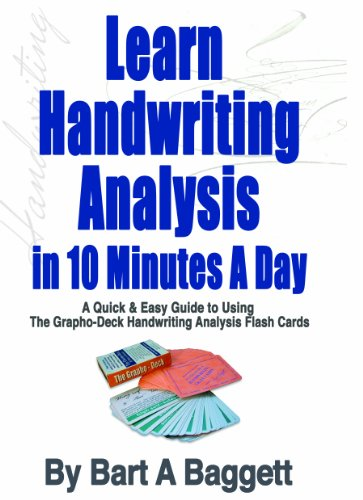 Learn Handwriting Analysis Grapho-Deck Starter Kit