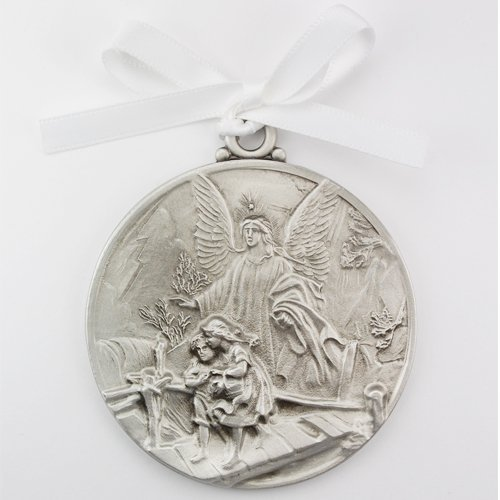 1 X McVan Inc. Guardian Angel Crib Medal 2-3/4