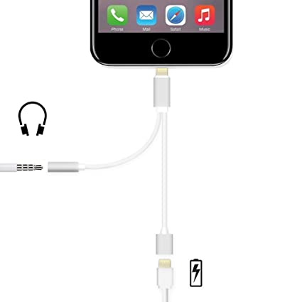 Amazon.com: 2 in 1 Lightning Adapter for iPhone 7, Charger and 3.5mm on charger battery, charger wire, charger ford, charger cable, charger wheels, charger rear suspension, charger exhaust, charger radiator diagram, charger parts, charger accessories, charger circuit, charger connectors, charger engine, charger lights,