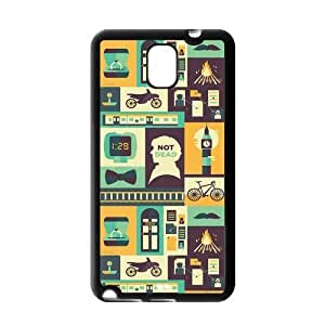 Fashion Hard Protective Gel Rubber Coated Cell Phone Case Cover for Samsung Galaxy Note 3 - Sherlock by mcsharks