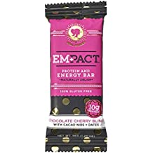 Empact Bars - Chocolate Cherry Bling - 10 Pack - Amazons #1 Ranked All Natural, NON-GMO, Gluten Free Protein and Energy Bar for Women