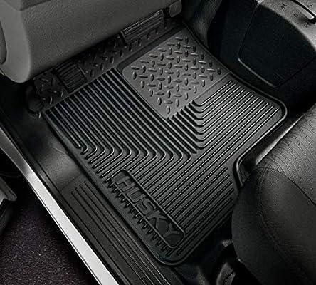 Husky 53001 Heavy Duty Black Rubber Center Hump Floor Mat Many Fitments