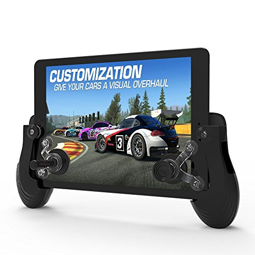 ystick Smart Phone Game Controller Mini Sucker Rocker Gamepad Suits for Android / iOS Cellphone & Tablet to Play Mobile Games (Black) (Today Block)