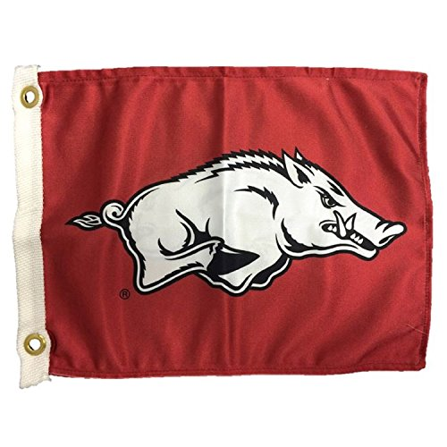 Arkansas Toy - NCAA Arkansas Razorbacks Boat/Golf Cart Flag