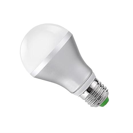 LiteXim Multi-Color Dimmable 16 Color Changing E27 5W LED Light Bulb Standard Light Socket