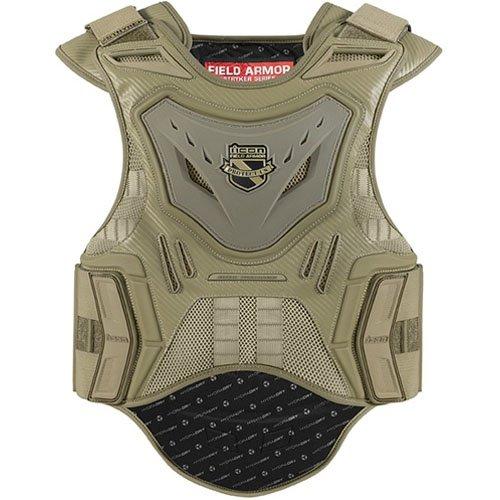Icon Stryker Battlescar Vest Men's Field Armor On-Road Motorcycle Body Armor - Large/X-Large
