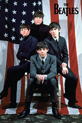 Beatles USA Poster 24 x 36in