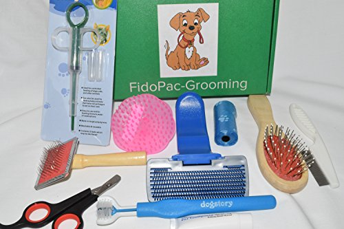 FIDOPAC-Small-Dog-Grooming-Product-Kit-for-Dental-Nail-Clipper-Hygiene-Long-Short-Hair-Brushes-for-Ultimate-Care-of-Your-Pet