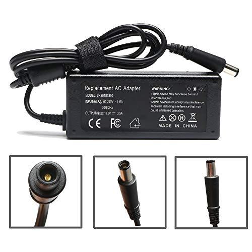 18.5V 3.5A 65W AC Adapter for HP Pavilion G4 G6 G7 M6 DM4 DV4 DV5 DV6 DV7 G60 G61 G72,EliteBook 2540p 2560p 2570p 2730p 2740p,Hp Compaq 2210b 2510p 2710p 6720t 6730s 6830s 4415s 4510s 4720s Probook