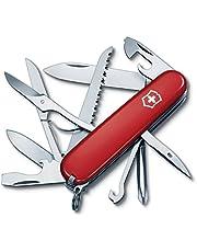 Victorinox Swiss Army 53931 Fieldmaster Pocket Knife, Red