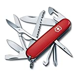 Victorinox Swiss Army 53931 Fieldmaster Pocket Knife, Red