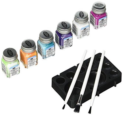 TESTOR CORPORATION 9012 Fun Colors Acrylic Paint Set, Multicolor