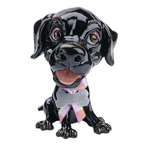 - Little Paws Jet Black Labrador Figurine by Arora Design Ltd