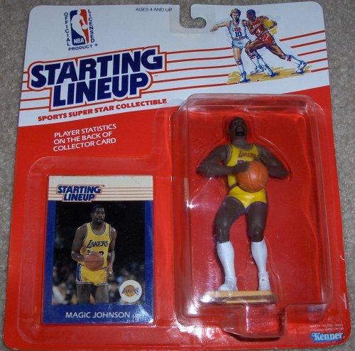 Starting Lineup 1988 Basketball Carded Magic Johnson