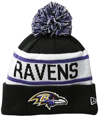 (New Era NFL Baltimore Ravens Biggest Fan Redux Beanie )