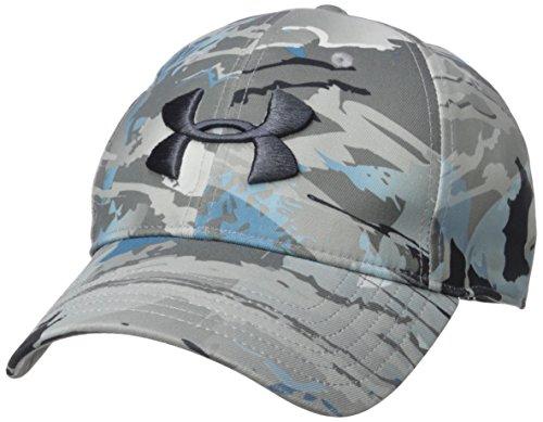 Under Armour Men's Camo 2.0 Cap, Ridge Reaper Camo Hy/Stealth Gray, One Size