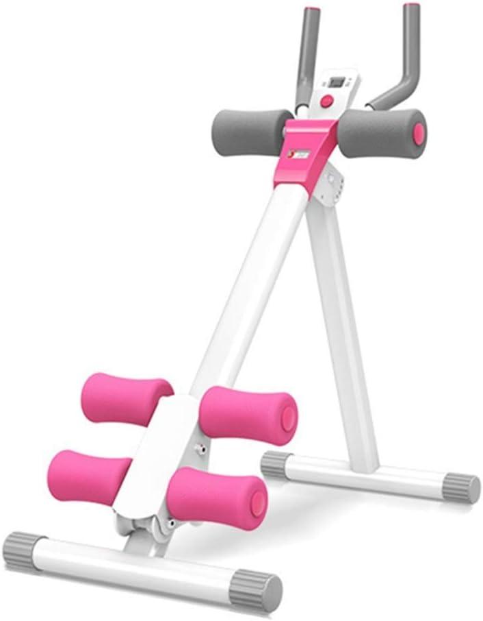 Bancos ajustables Entrenadores abdominales plegables Máquina de entrenamiento de altura ajustable, Equipo de entrenamiento de cuerpo entero para piernas, muslos, glúteos, Ejercitador para el gimnasio