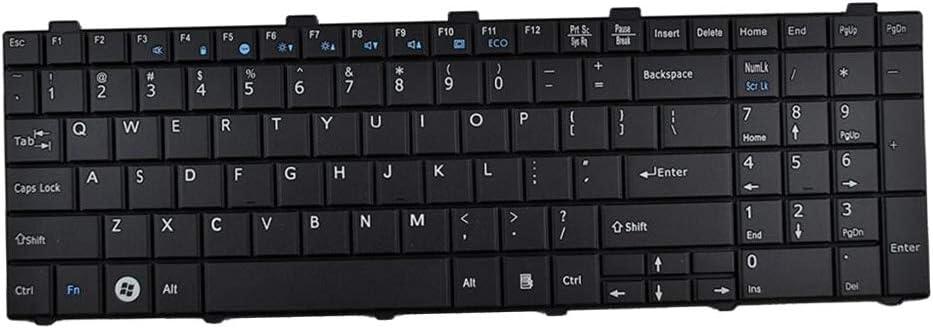Almencla Teclado Compatible para Fujitsu Lifebook Laptop ...