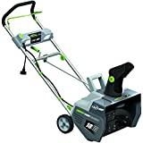 Earthwise SN72018 Electric Corded 13.5 Amp Snow Thrower, 18'' Width, LED Lights, 700lbs/Minute