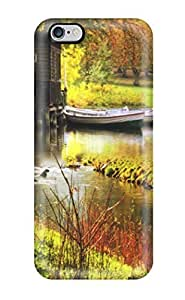 Flexible Tpu Back Case Cover For Iphone 6 Plus - Lake House
