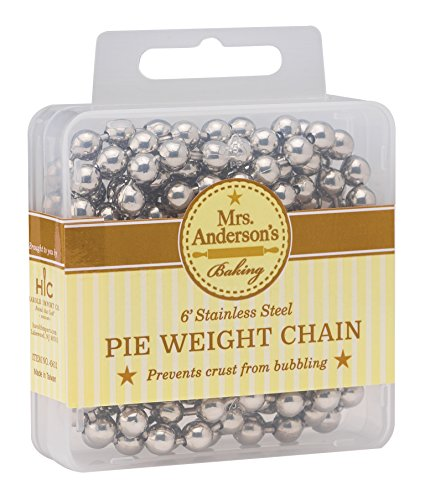 Mrs. Anderson's Baking Pie Crust Weight Chain, 6-Feet Long by Mrs. Anderson's Baking