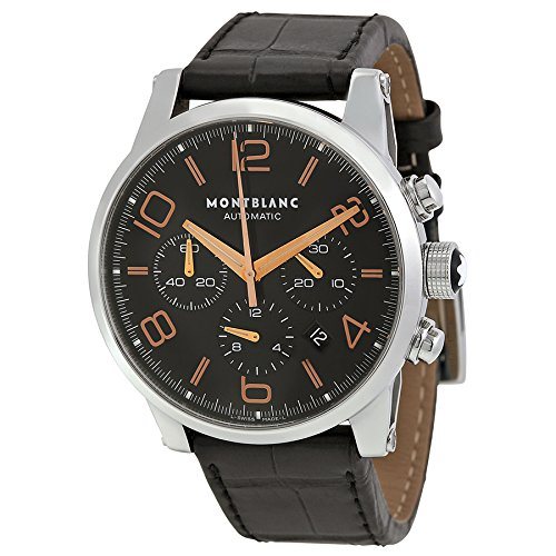 7fdb81a2cd4 Montblanc Timewalker Chronograph Automatic Black Dial Mens Watch 101548:  Montblanc: Amazon.ca: Watches