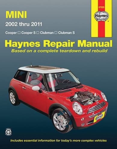 mini cooper cooper s clubman clubman s 2002 through 2011 rh amazon com 2013 Mini Cooper S Coupe Mini Cooper S Co-op
