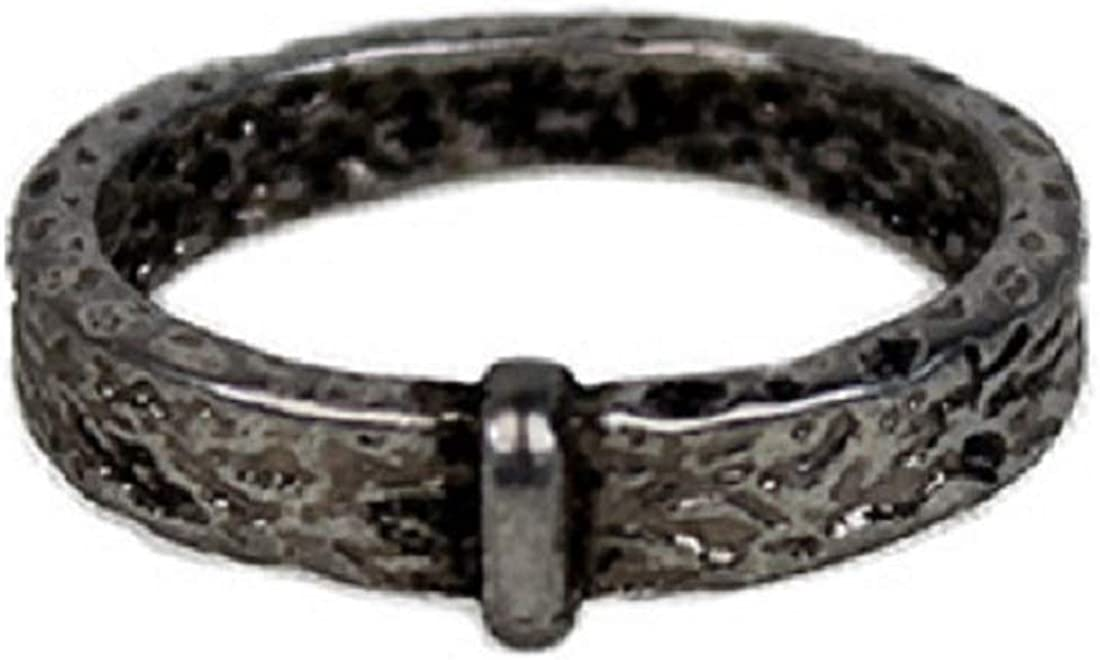 OUTLANDER RING Wedding Celtic Knot Stainless Steel props Claire Randall Jamie