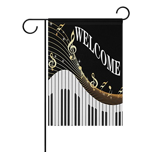 welcome music piano musical notes