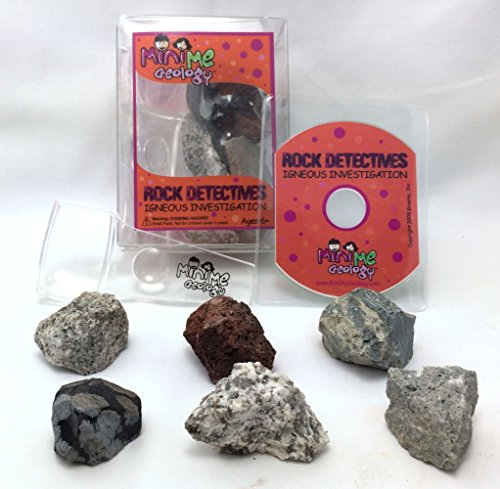 Igneous Investigation Rock Detectives Kit – Geology Collection with E-book