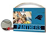 KH Sports Fan Clip It Colored Logo Photo Frame Carolina Panthers