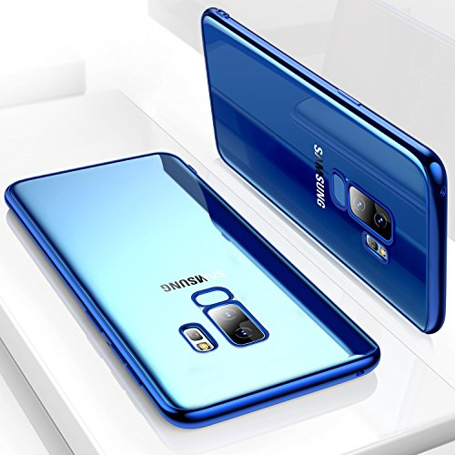7297443fc3b0 50% Galaxy S9+ Plus Case, TORRAS Slim Fit Ultra Thin Crystal Clear  Transparent Soft TPU Cover