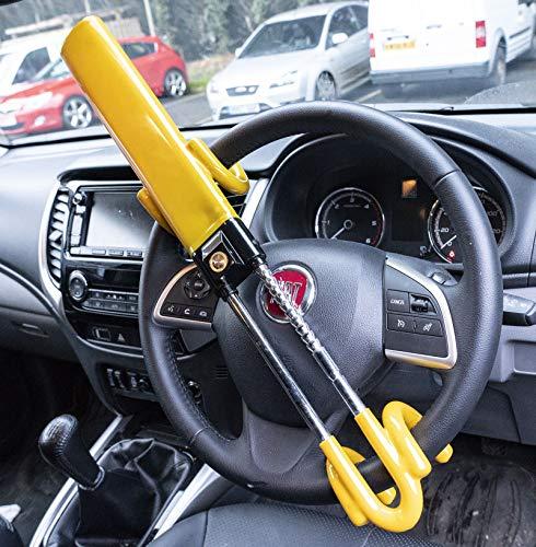 UKB4C Steering Wheel Lock High Security Anti Theft Twin Bar for Saab 900 All Models: