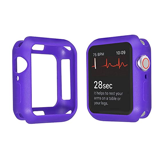 new product 9b639 30487 Amazon.com: Apple Watch Case PC Structure Design Protector All ...