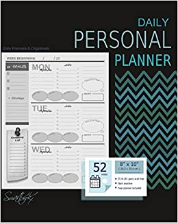 Personal Planner: Diary Book with Weekly at a Glance ...