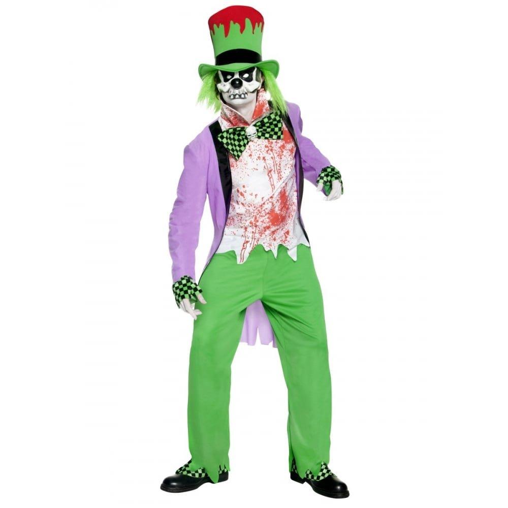 Herren Böser Hutmacher im im im Grinchlook Kostüm Halloween Gr.L 11125c