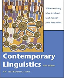 Contemporary linguistic analysis : an introduction