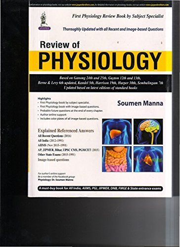 Buy Review Of Physiology Book Online at Low Prices in India