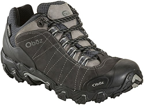 - Oboz Bridger Low BDry Hiking Boot - Men's Dark Shadow 9