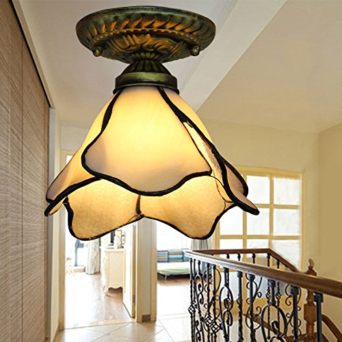 Bretton 2 Light (Kiven Mediterranean Style Ceiling Light Vintage Entrance Wall Lamp (BD0143))