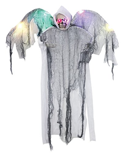 Morris Costumes Hanging White Winged Reaper -