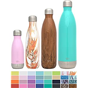 Simple Modern 17oz Wave Water Bottle - Vacuum Insulated Double Wall 18/8 Stainless Steel Hydro Swell Flask - Concept Collection - Sante Fe