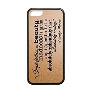 MMZ DIY PHONE CASEMarilyn Monroe Quotes iphone 5c Cases-Cosica Provide Superior Cases For iphone 5c