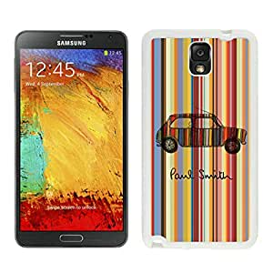 Unique And Luxurious Designed For Samsung Galaxy Note 3 N900A N900V N900P N900T Cover Case With Paul Smith 17 White Phone Case