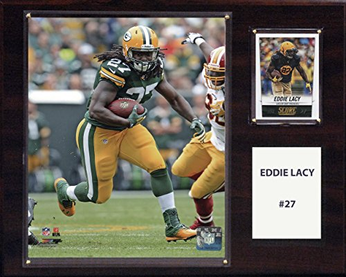 NFL Green Bay Packers Eddie Lacy Player Plaque, 12 x 15-Inch