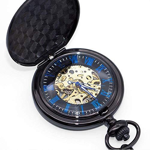 YGB fickur, klassisk design skelett mekanisk klocka för män steampunk brons handlindad klocka födelsedag