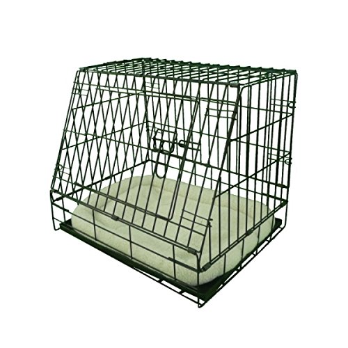 Ellie Bo Deluxe Sloping Puppy Cage Folding Dog Crate With