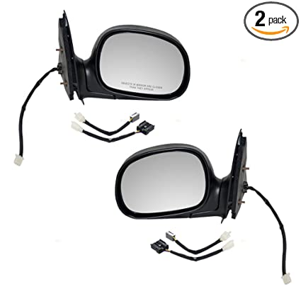 Stupendous Amazon Com Pair Power Side View Mirrors For 97 02 Ford F150 Squirreltailoven Fun Painted Chair Ideas Images Squirreltailovenorg